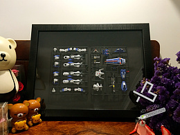 FG决斗高达的相框装裱 生日礼物 纪念礼物