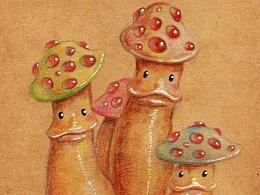 奇妙生物——蘑菇宝宝