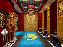 新皇室茶室设计