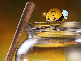 【蜂农】农家土蜂蜜IP吉祥物设计