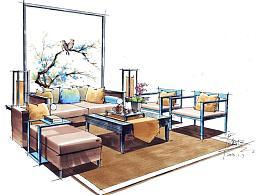 室内软装设计快速表现
