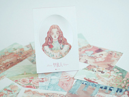 《梦旅人》系列明信片