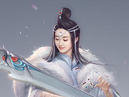 《新剑侠情缘》天山 赵丽颖