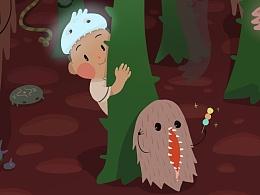 怪物系列--茸茸兽