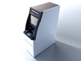 ATM大堂机设计(两种渲染风格)