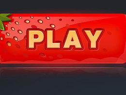 游戏 按钮 拟物 ui 临摹