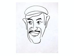 名人明星肖像漫画
