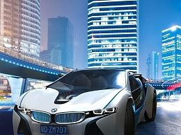BMW Vision 试合成