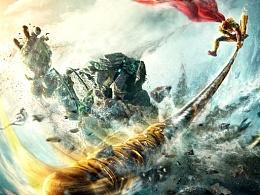 《大圣归来》石人大战版终极海报