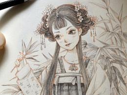 自动铅笔手绘本子小结02