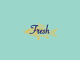 Fresh 時尚海鮮餐飲店vi設計