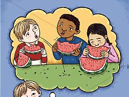 儿童插画 儿童插图 绘本