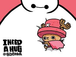 《I need a hug》   像你一样温暖的拥抱。