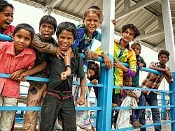 """""""笑""""是印度最印象深刻的小情绪"""