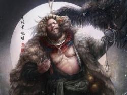 张墨一《水浒传》地猖星-毛头星-孔明 by 张墨一