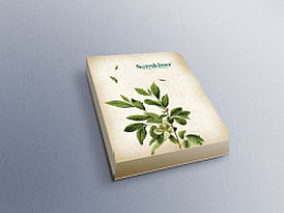 希金诺(护肤品)天然植物系列赠品小本子