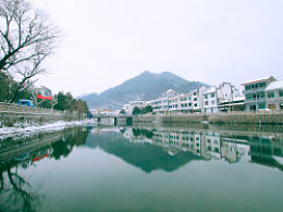 安吉章村赶雪