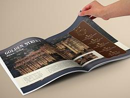 一本被骗稿的画册!港城金街投资手册设计|WakeUP Brand