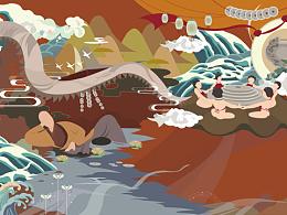 西湖十景---毕业设计展览
