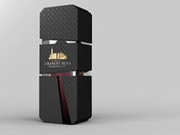 张裕红酒包装设计 一些个人想法比较多的概念稿