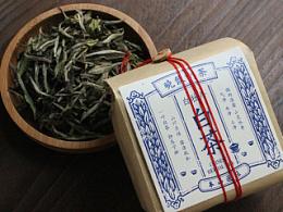 不染品牌设计|晓饮白茶的山野草木经