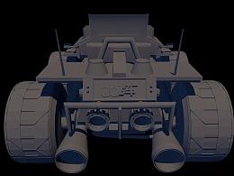 QQ飞车雷诺建模