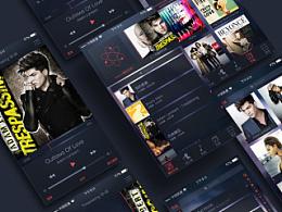 苹果IOS iTunes音乐界面设计