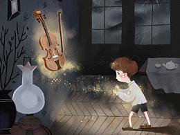 插画设计:童话