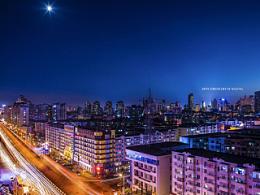 哈尔滨夜景一[宾得645z]
