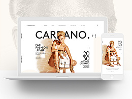 CARRANO Homepage Redesign