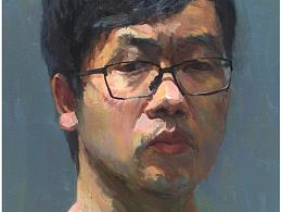 油画肖像写生