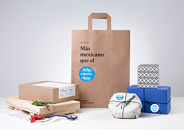邵则学原创作品—韩国食品产品创意包装设计解决方案。