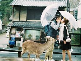 IYANZI环球旅拍日本站-最美的不是下雨天,是和你一起躲过雨的屋檐