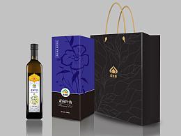 亚麻籽油红花籽油包装