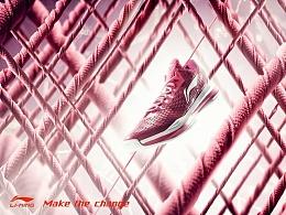 李宁-弓2代篮球鞋 某公司运动专题宣传片拍摄