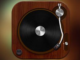 唱片机临摹练习