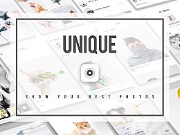 Unique摄影社区app概念设计