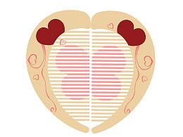 我的心只有一颗,一半在你那
