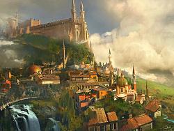 守夜人大大习作 《小城堡》作品及步骤图