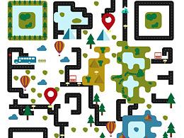 Day45- 每日设计 we+旅游公司二维码设计