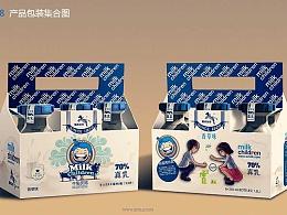 milk children牛奶瓶案例