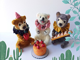 三只小熊的生日聚会