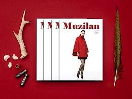 《木子兰》服装品牌画册-品牌视觉设计,大片修图,化妆,拍摄,印刷监印in站酷zcool