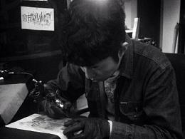 纹身手稿分享
