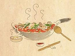 手绘食谱《酸汤鱼》