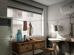 室内小角落三维渲染图_练手之作图片