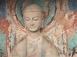 彩铅作品:麦积山石窟佛像