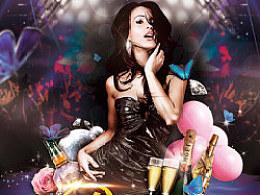 DEARWOOD DANCE 蝶舞工作室宣传海报设计