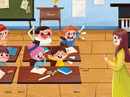 儿童插画绘本-一些测试