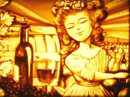 castel葡萄酒沙画(沙画视频·婚礼·演出·培训)